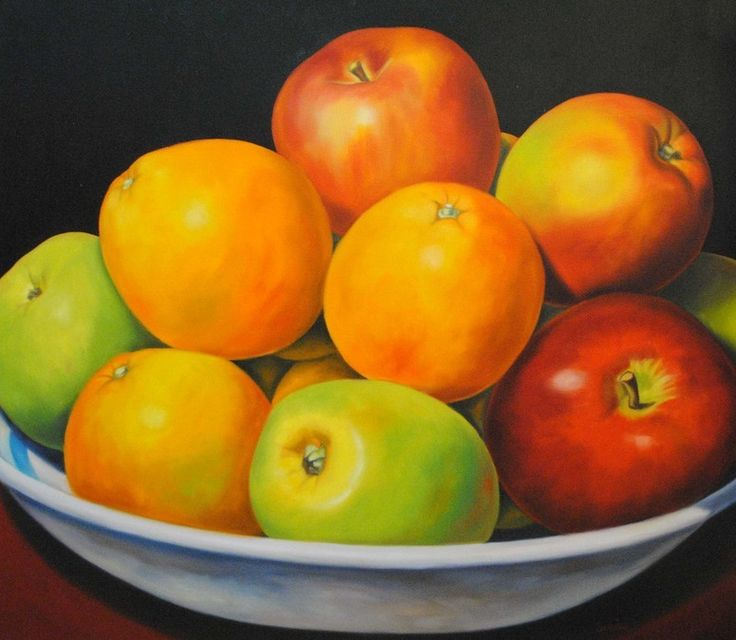 Oranges and Apples  48x54 - Carmelo Sortino