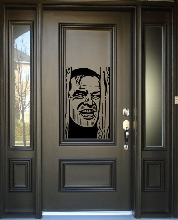 check out this awesome removable vinyl wall and window decal in our spooky - Halloween Window Decals
