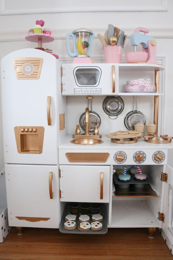 Just Like So Many, We Fell For This KidKraft Vintage Kitchen HERE. You Can