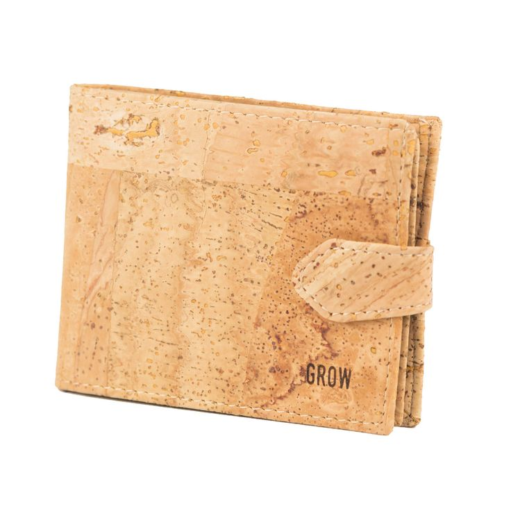Mens Wallet, cork wallets, vegan leather, FREE SHIPPING, Eco wallet, Vegan Product, Gift ideas for him, unique gift, Kork, Liege, cork by GrowFromNature on Etsy