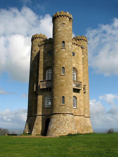 Broadway Tower, The Cotswolds  All Repunzel and all