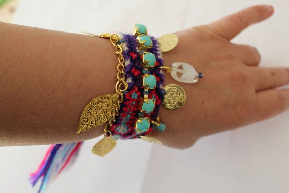 FRIENDSHIP BRACELET Boho bracelet friendship by Ninodesigns