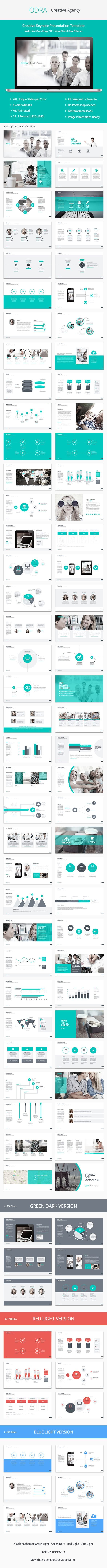 Odra | Creative Keynote Template #keynotetemplate #keynote #presentation Download: http://graphicriver.net/item/odra-creative-keynote-template/8157947?ref=ksioks