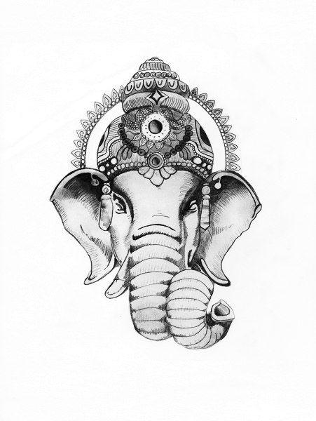 Значение татуировки Ганеш (4)
