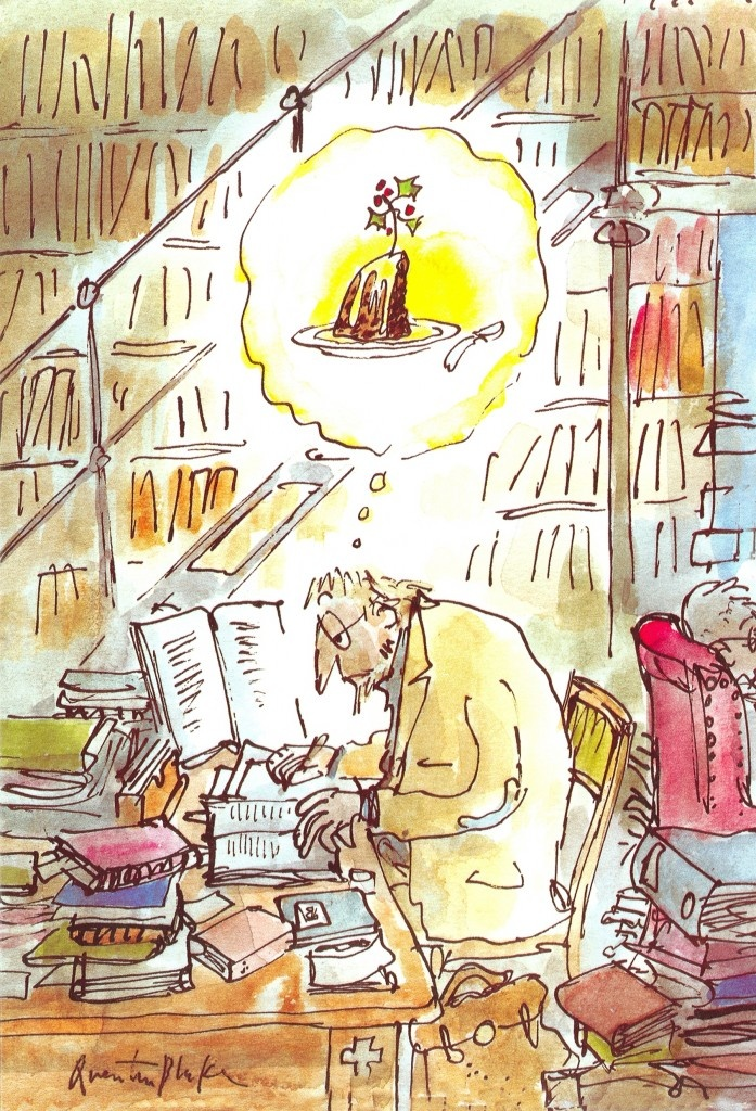 I'm sure everyone who works will relate to this! Gimme some cake! Quentin Blake You read my mind Mr Blake.