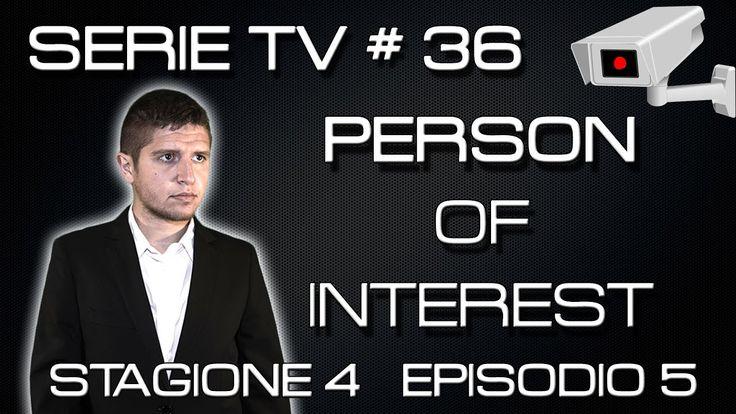 """""""Io e te dobbiamo farci una chiacchierata"""" Recensione (spoiler) di Prophets, episodio 5 della 4 stagione di Person of Interest. Stagione 1 (Blu Ray) su Amazo..."""