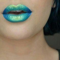 Ombre #lips: pásate al efecto degradado en tus labios #beauty #makeup
