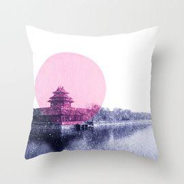 forbidden city.  buy from http://society6.com/jennymadeleine/pillows