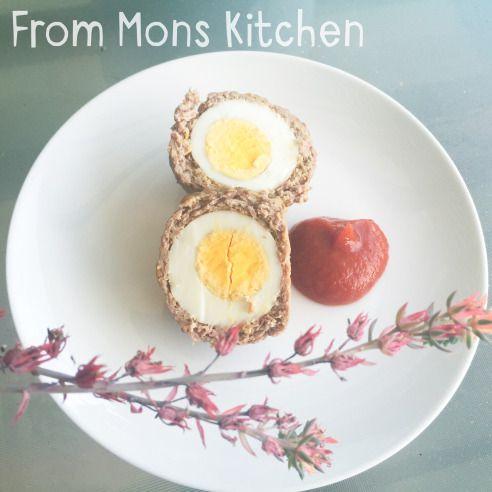 Scotch Eggs #paleo #dinner #lunch #breakfast #schoollunches #lunchbox #glutenfree #dairyfree #familyfavourite #familyfood
