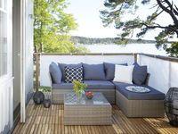 Loungemöbel, hörnsektion 73x73x65 cmGråKonstrotting - Loungemöbler - Rusta