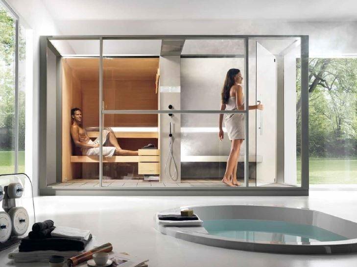 Saune per casa with saune per casa latest vera sauna finlandese in casa idee per casa con - Casa in canapa costo ...