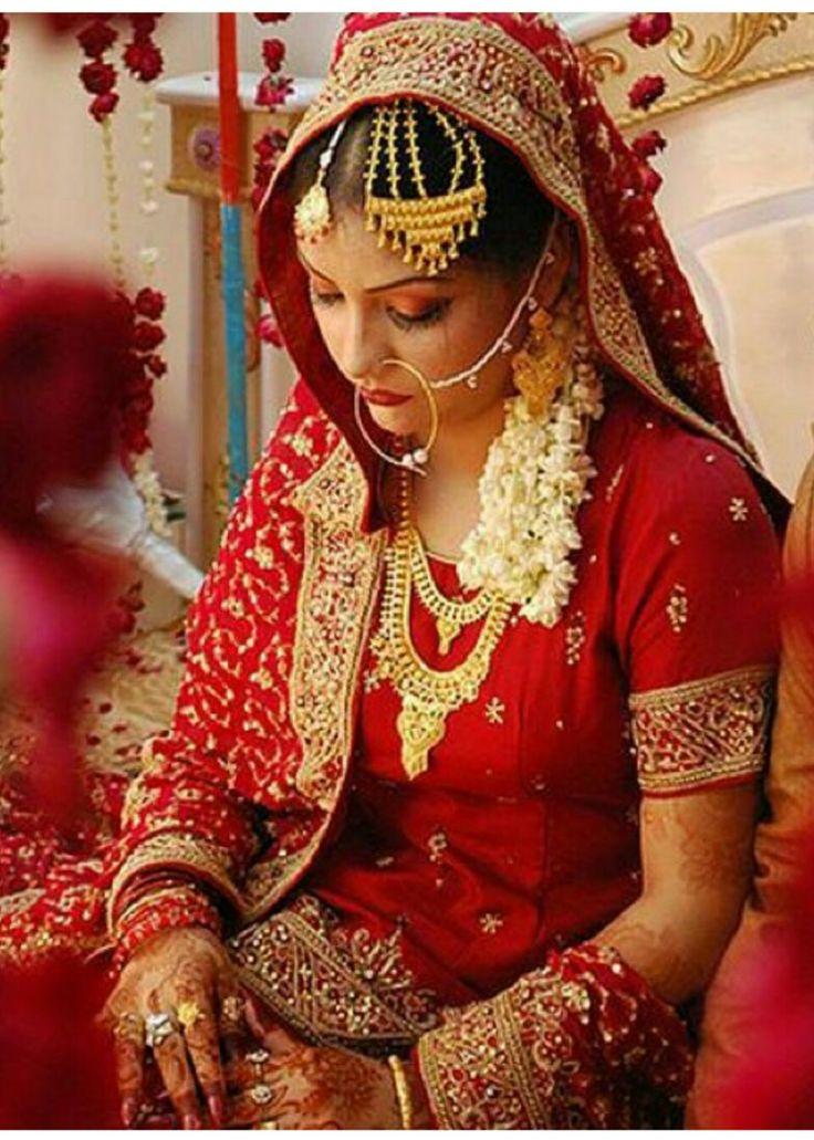 Pin by Princess Yaz on Bridal Indian wedding bride