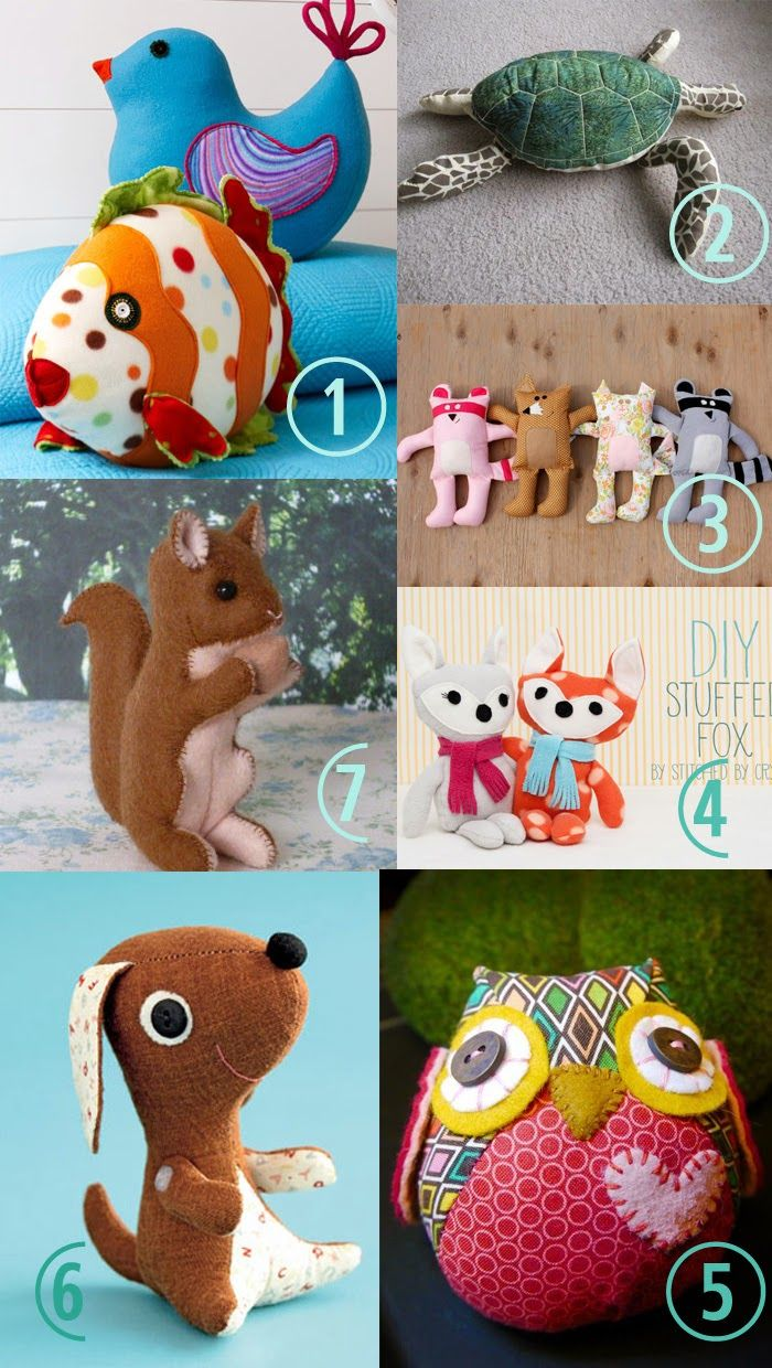 Free Stuffed Toy Pattern | Frugal Family Fair