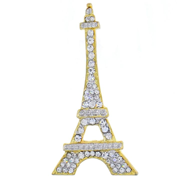 Gorgeous Eiffel Tower brooch. Add a bit of french style to any outfit. Only $10