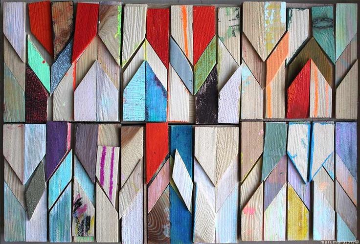 TOTEM V, 2012  www.marumaru.de  Wood Installation Berlin 2012  #art #installation #marucarranza #wood #berlin