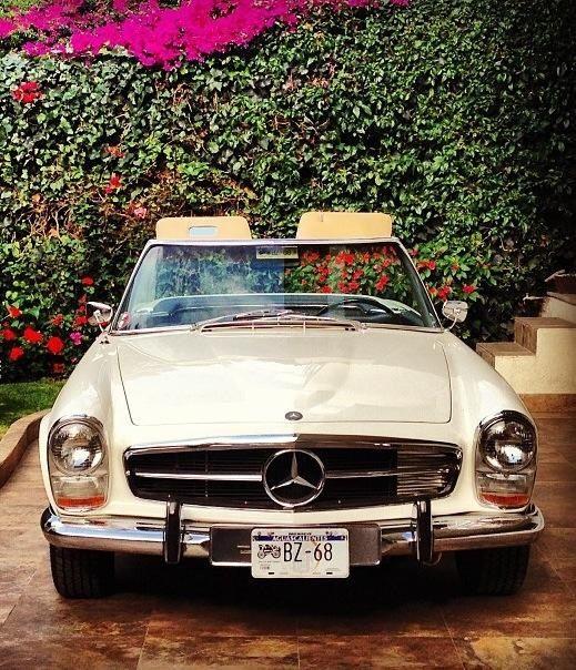 #Mercedes 230 SL #MercedesBenzofHuntValley