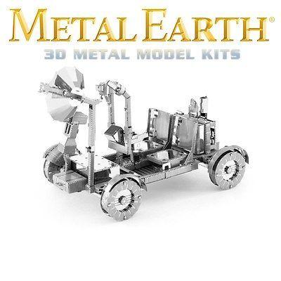 Fascinations Metal Earth Lunar Rover NASA Apollo Moon Laser Cut 3D Model
