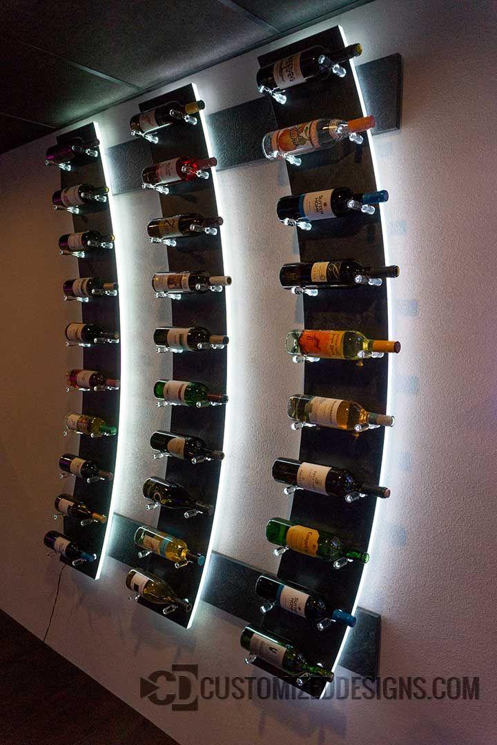 Home Bar Ideas Pictures Customizeddesigns Com Wine Bottle Shelf Wine Bottle Rack Lighted Wine Bottles
