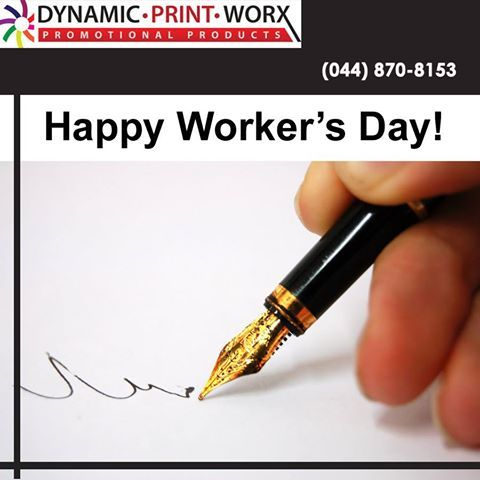 Happy Worker's Day! We all need some kind of a reward for our work. You deserve a day off to celebrate your labour. #WorkersDay #brandeditems #corporateidentity