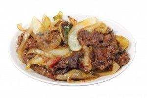 Recette du sauté de boeuf aux oignons et épices, grand classique de la cuisine Chinoise !