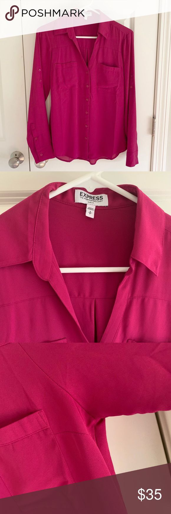Express Slim Fit Portofino Shirt NWOT. Express Slim Fit Portofino Shirt, size sm… – Felda Fingerfood