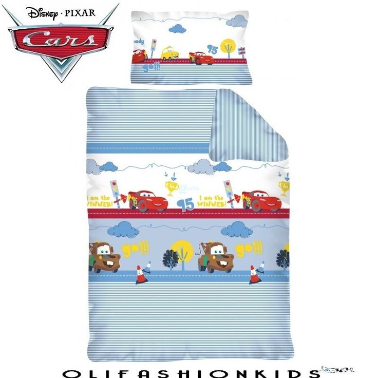 DISNEY CARS BEDDING SET COT BED