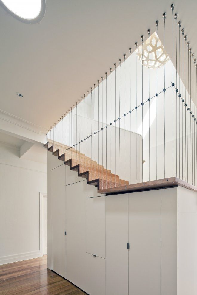 Understair storage - Abbotsford Residence by Chan Architecture