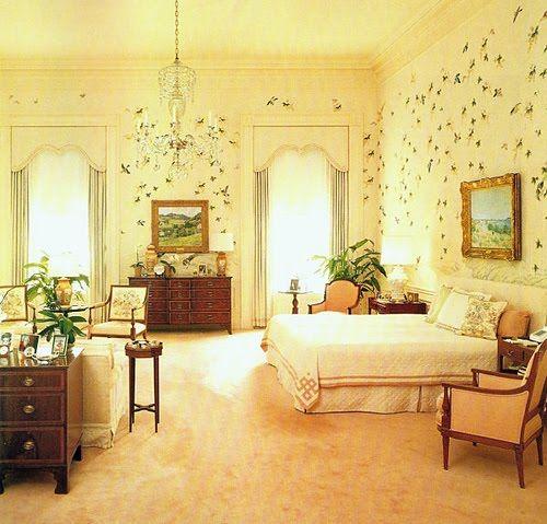 White House Master Bedroom 2014