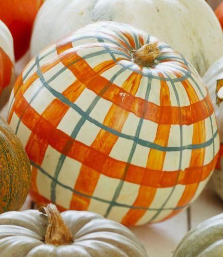 easy no carve pumpkin decorating - Pumpkin Halloween Decorations