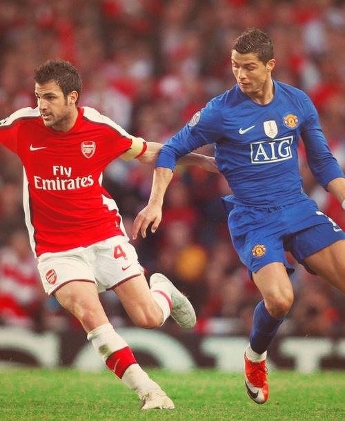 Fabregas v Ronaldo