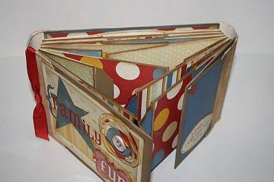gatefold paper bag mini; video tutorial for basics here: http://www.youtube.com/watch?v=6v2ngyH1uM4