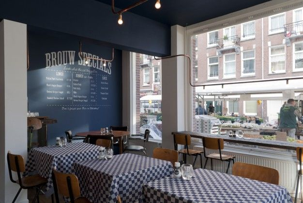 Bar Brouw by OIEMV // Amsterdam | FUTU.PL