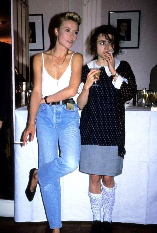 vintagesalt:   Amanda Donohoe and Helena Bonham Carter