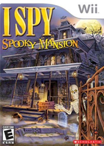 I Spy Spooky Mansion - Nintendo Wii - Larger Front