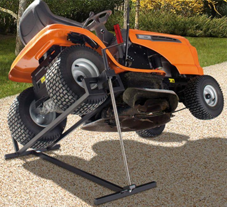 12 Best Lawn Mower Lift Images On Pinterest Grass Cutter