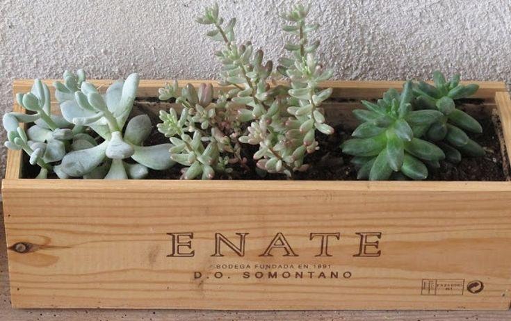 Ideas para reciclar cajas de vino