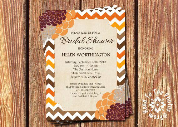 1000+ ideas about Bridal Shower Fall on Pinterest   Burlap wedding ...