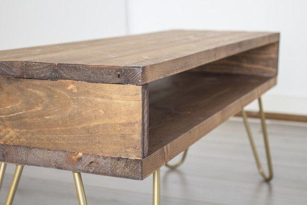 Buffetschränke - Fernsehtisch holz, TV-Konsole, TV-Tisch, TV-Möbel - ein Designerstück von dokke bei DaWanda
