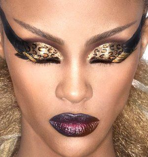 14 best Wild Makeup images on Pinterest | Hairstyles, Butterfly ...