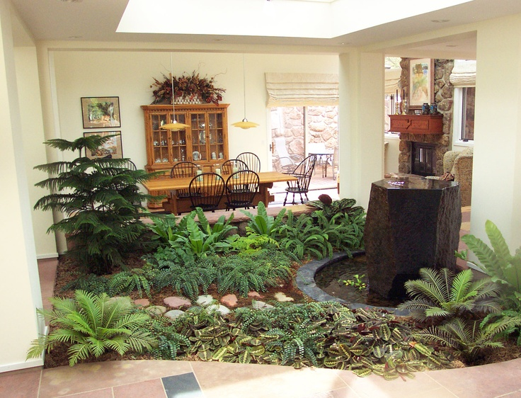Indoor atrium landscaping projects pinterest indoor for Atrium design and decoration