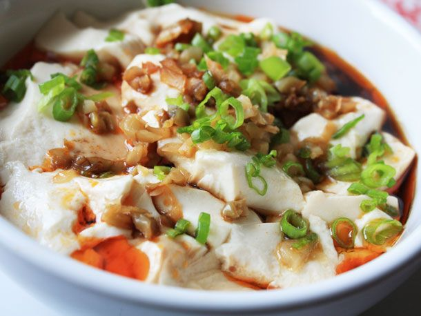Silken Tofu with Soy Sauce and Chili Oil: Silken Tofu, Recipe, Sauces, Chilis, Soy Sauce, Oils, Chili Oil, Chinese Food
