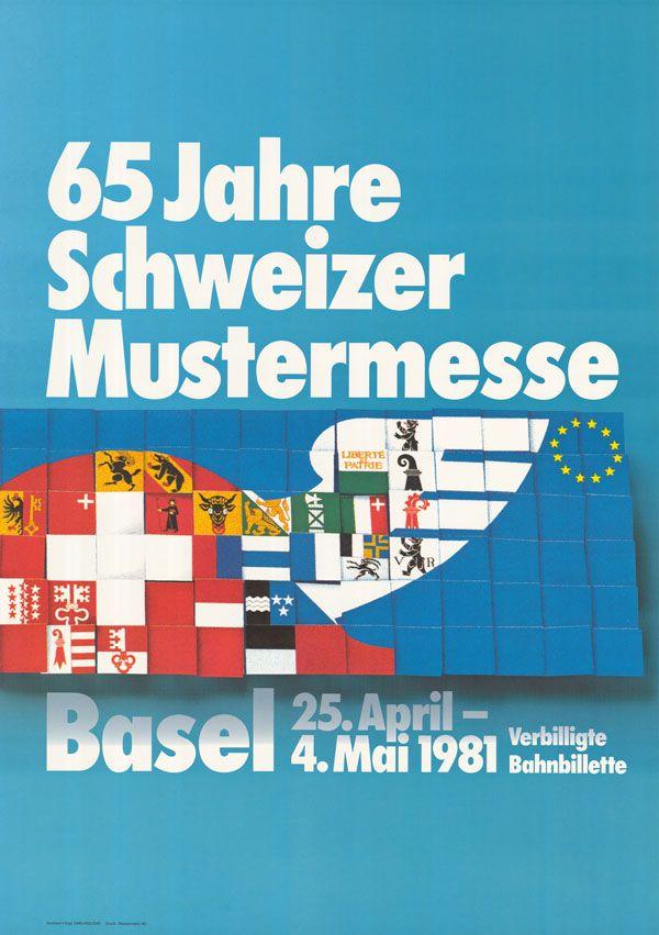 At. Humbert + Vogt Studios, 65 Jahre Schweizer Mustermesse Basel, 1981