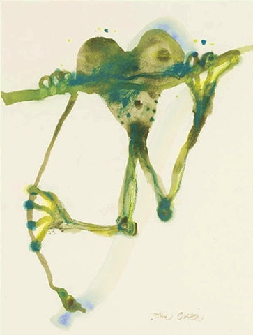 tree frog by john olsen #greenwithenvy #lifeinstyle