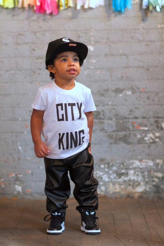 Unisex Faux Black Leather Jogger Sweatpants for Kids by LoeApparel $36.00 #kids #fashion ...
