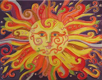 Large Decorative Tiles 36 Best Sunshine Images On Pinterest  The Sun Sun Art And Celestial