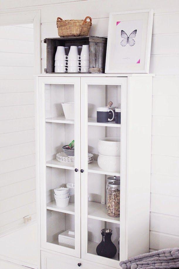 Vitrinas Blancas Para Salon. Saln Vitrina Ikea With Vitrinas Blancas ...