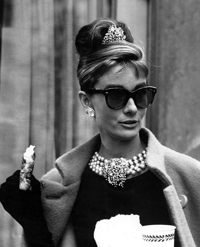 Audrey Hepburn Updo