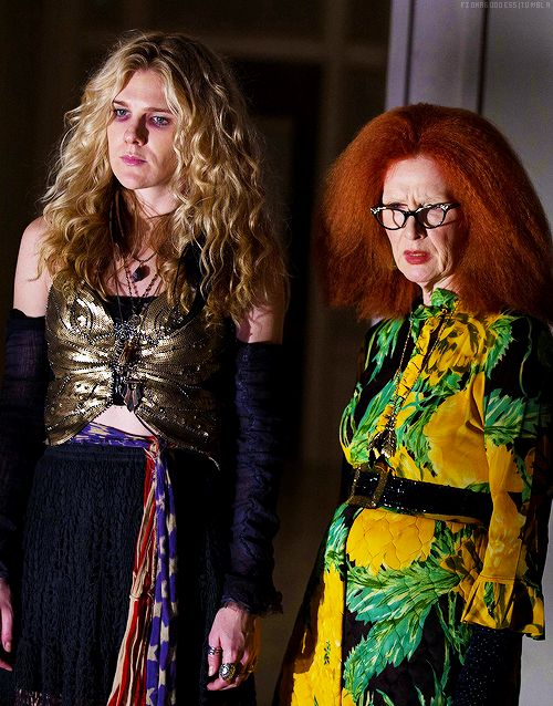 Lily Rabe as Misty & Frances Conroy as Myrtle, Coven