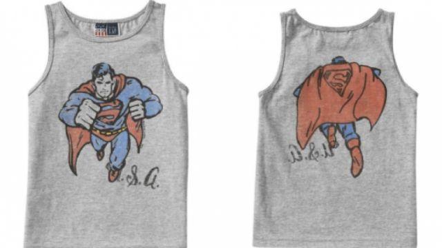 GAP's Toddler Superhero Collection | #Superman tank