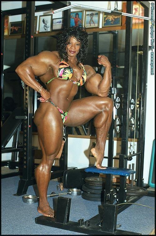 huge muscle girls tumblr